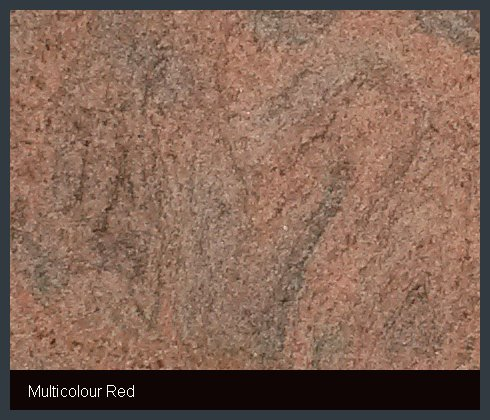 Multicolour Red Indian Granite