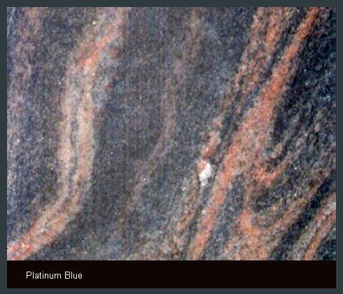 Platinum Blue Indian Granite
