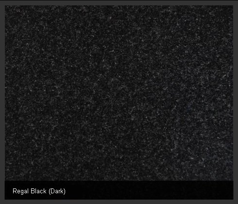 Regal Black (Dark) Indian Granite
