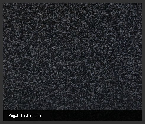 Regal Black (Light) Indian Granite