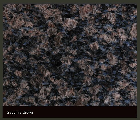 Sapphire Brown Indian Granite