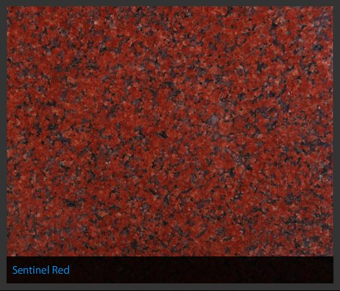 Sentinel Red Indian Granite