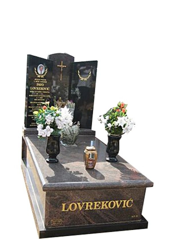 Springvale Paradiso and Royal Black Full Monument Pavo Lovrekovic Cemetery Memorial