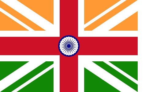 The Anglo-Indian Flag