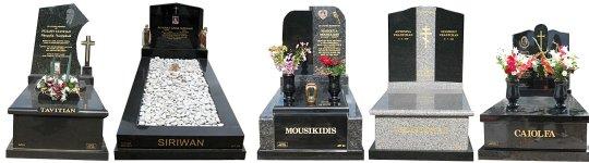 Cemetery Memorials - Full Monuments