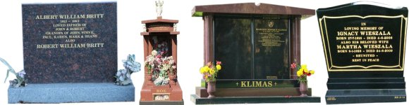 Cemetery Memorials Headstones