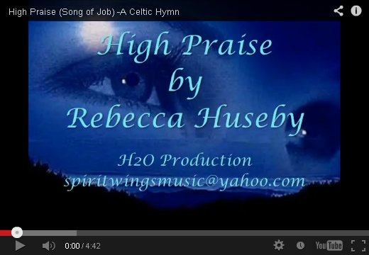 High Praise by Rebecca Huseby on YouTube