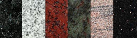 Indian Granite for Cemetery Memorials