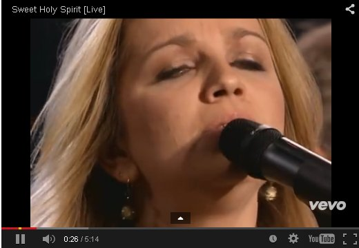 Sweet Holy Spirit By The Isaacs on YouTube